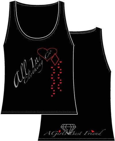Girl's Hearts & Diamonds Tank