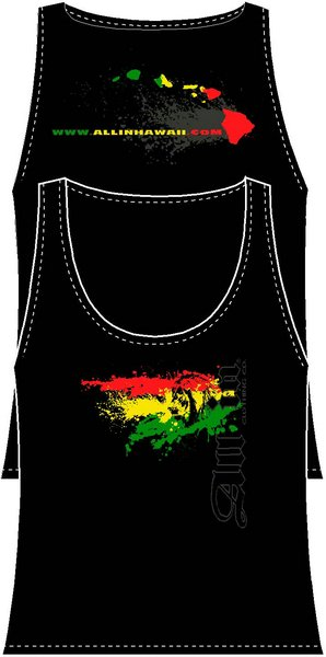 Girl's Rasta Spray Tank